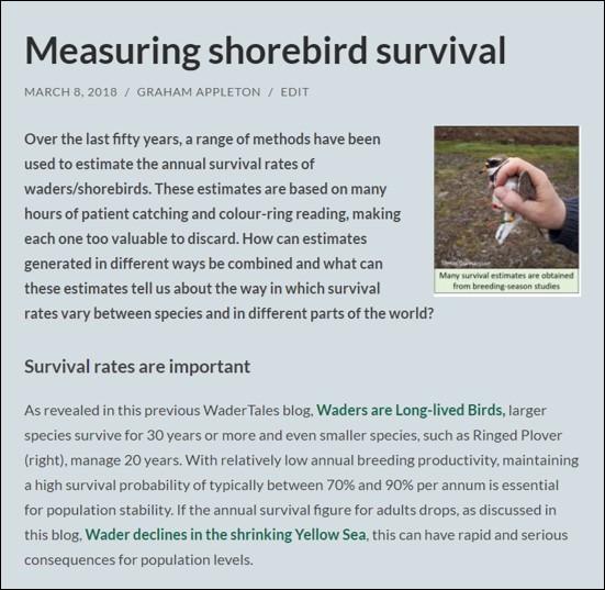 survival blog
